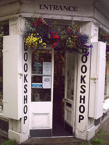 Storefront- HAY ON WYE BOOKSHOP....charming