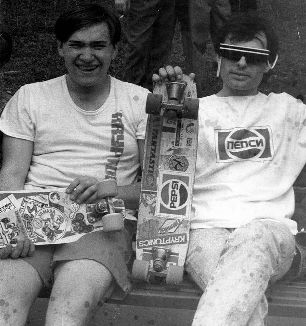 Скейтеры СССР