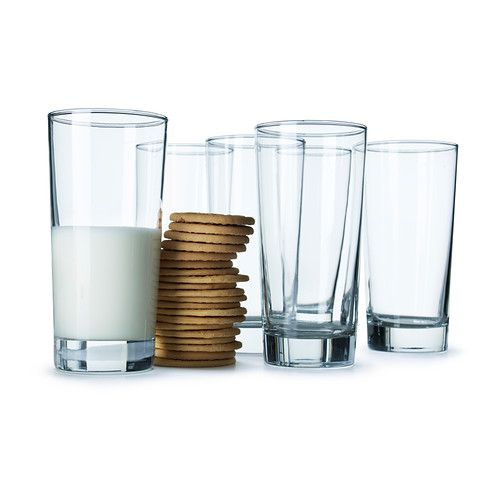 godis glass clear glass glass On ikea stackable drinking glasses