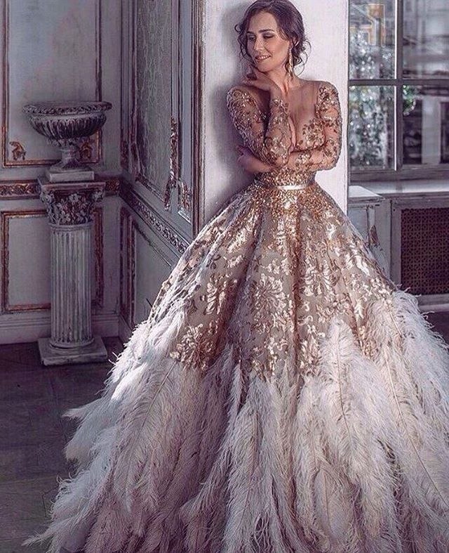 1000+ Images About Gold Wedding Dresses On Pinterest
