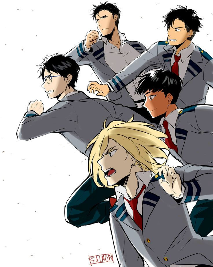 It is called trash CAN, not trash CANNOT — YOI X BNHA I