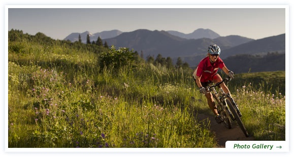 Experience the thrill of biking at Deer Valley Resort, rated by Mountain Bike Action magazine as one of the ten best mountain bike destinations.