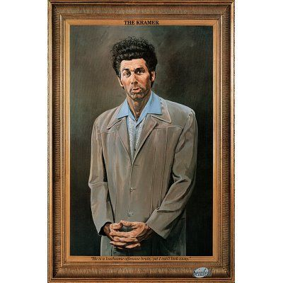 Poster of the Kramer painting from Seinfeld. $2.