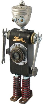 "... Argus ... Amy Flynn Designs ... principal components: ""Argus"" camera, tea ball, valve lifter springs, wrenches"