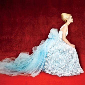 Erik Madigan Heck / lace couture, Conde Nast