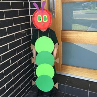 This VERY hungry caterpillar. | 19 Parents Who Completely Nailed Book Week…