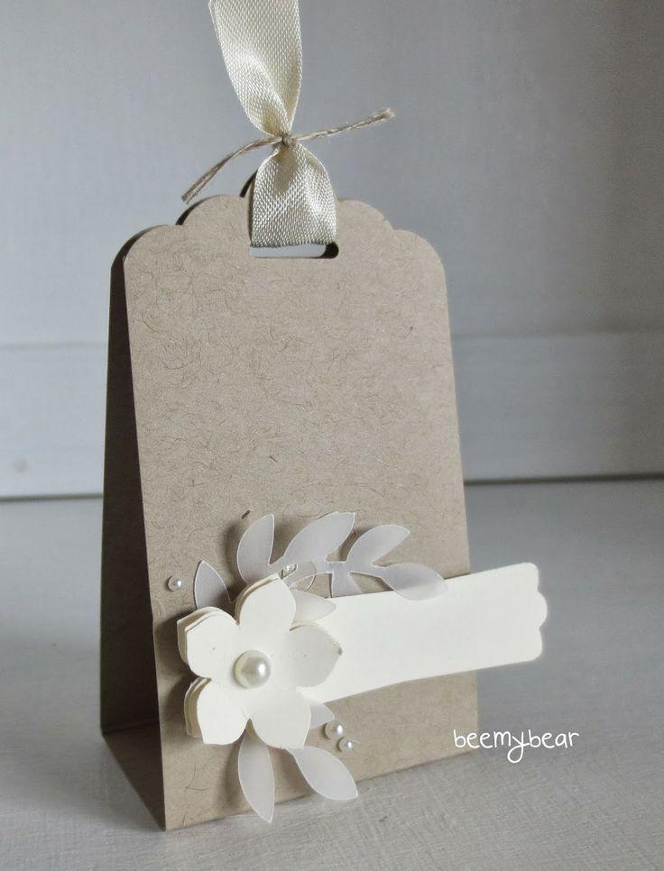 Tag - stampin with beemybear: Tischkarte Hochzeit - bordkort - bryllup
