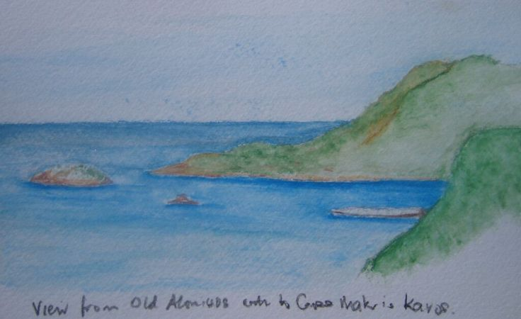 Water colour sketch,
