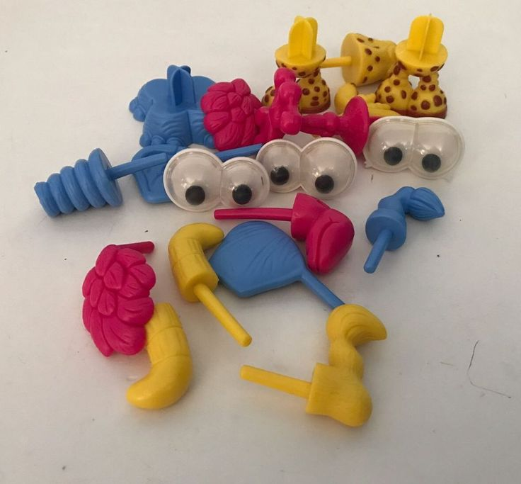 Play Doh EZ2DO Zoo Animal Parts Pieces 19 #Hasbro