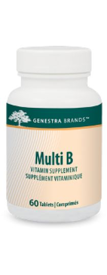 Multi B by Genestra provides an excellent source of a broad spectrum, well-balanced ratio of B-complex vitamins to assist with the metabolism of proteins, fat and carbohydrates.