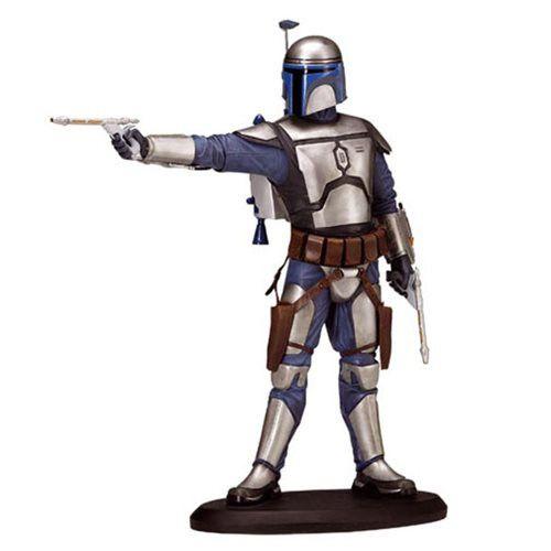 *PRE-ORDER* JANGO FETT: Star Wars Episode II 7 1/2-Inch Porcelain Statue By Attakus