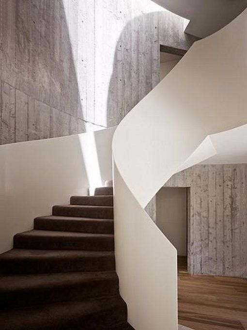 24 best stairs design inspiration images on pinterest for Round staircase designs interior