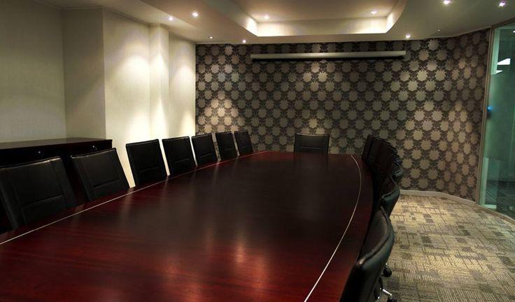 Boardroom interior designed by Zuri  www.zuri.co.za