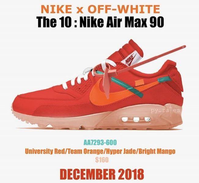 Off White X Nike 2018 Releases Off White Schuhe Turnschuhe Nike