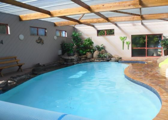 indoor heated swimming pool - waiheke