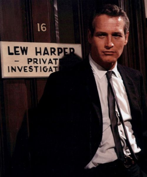 "Paul Newman in the movie, ""Harper,"" 1966."