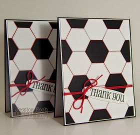 Chick-n-Scrap: Thank You Soccer Cards...{Whatever Wednesday w/MCT}