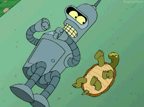 I got 9 out of 10 on Which Robot Said It: Bender Or Marvin The Paranoid Android?!