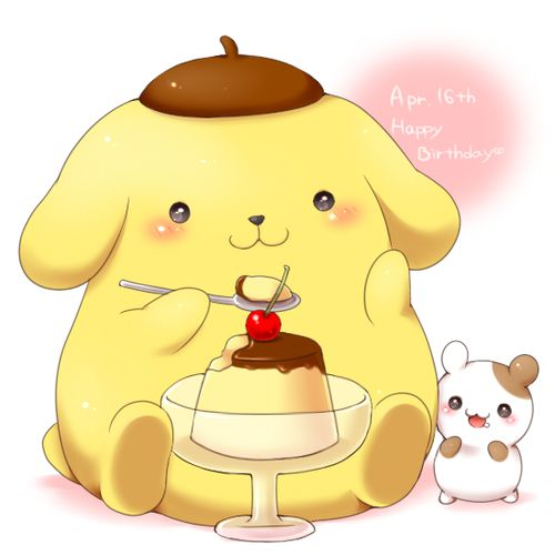24 Best Lovely Pom Pom Purin And His Friends Images On