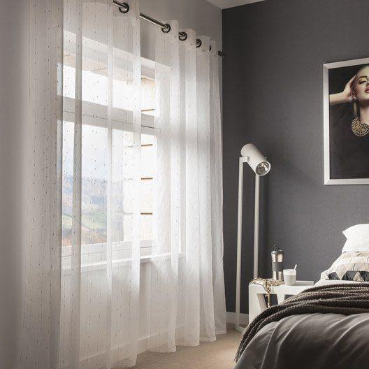 19 best rideaux et voilages images on pinterest net - Rideaux salon leroy merlin ...