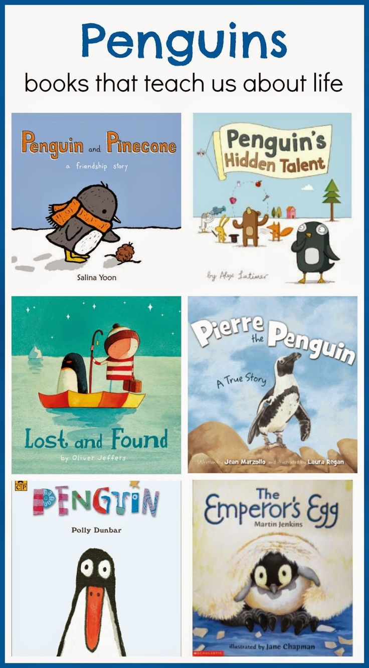 6 penguin books to love Childrens books activities