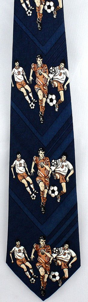 New World Cup Game Mens Necktie Soccer Ball Player FIFA Football Sports Neck Tie #Pascal #NeckTie