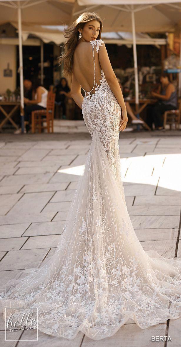 86ccc38362b0 Wedding Dresses Red And White   Vestido novia corte sirena en 2019 ...
