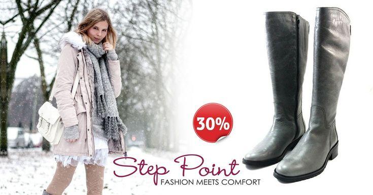 Μπότες Gianna Τώρα -30% <3 <3 <3  http://www.step-point.gr/mpotes-gianna.html