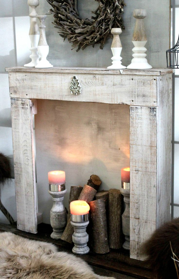 die besten 25 shabby chic kamin ideen auf pinterest shabby chic mantel dekokamin und. Black Bedroom Furniture Sets. Home Design Ideas