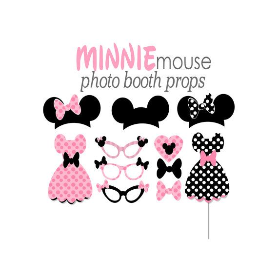photo relating to Minnie Mouse Photo Booth Props Printable titled Ultimate Do-it-yourself Minnie Mouse Image Booth Props - Freshomedaily