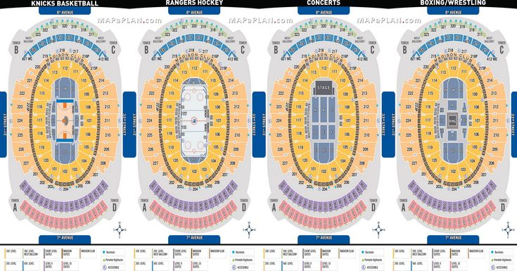 1000 Images About Madison Square Garden Seating Chart On Pinterest Madison Square Garden