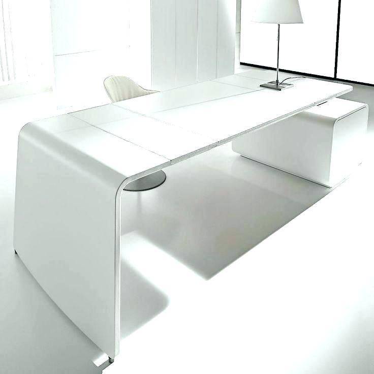 Contemporary Desks For Office Office Furniture Modern White