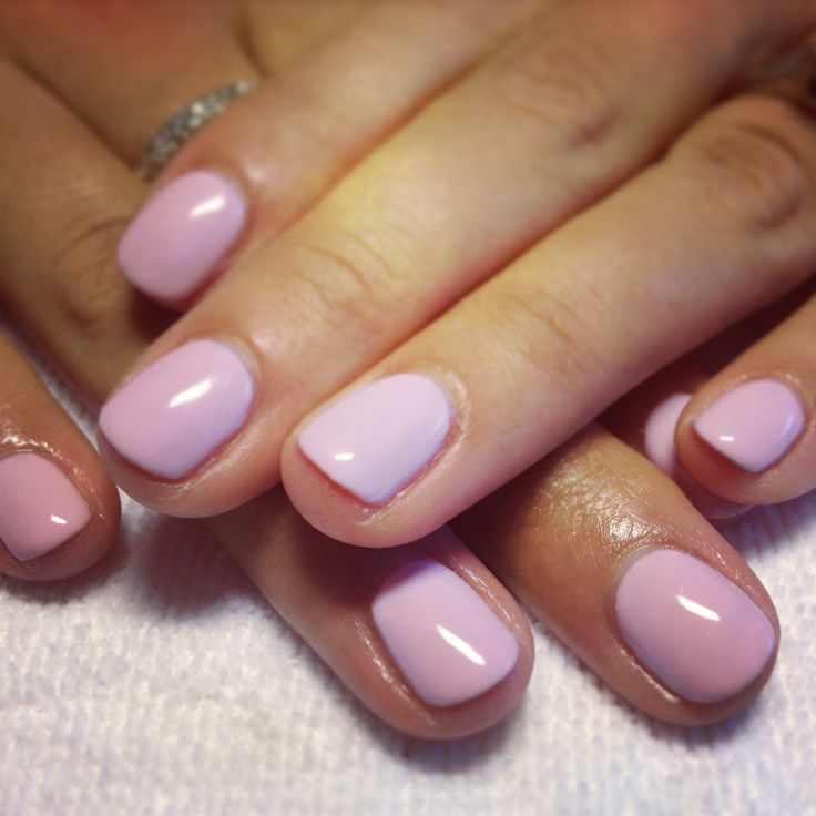 CND Shellac Cake Pop nail color for weddingPop Nails, Nails Colors