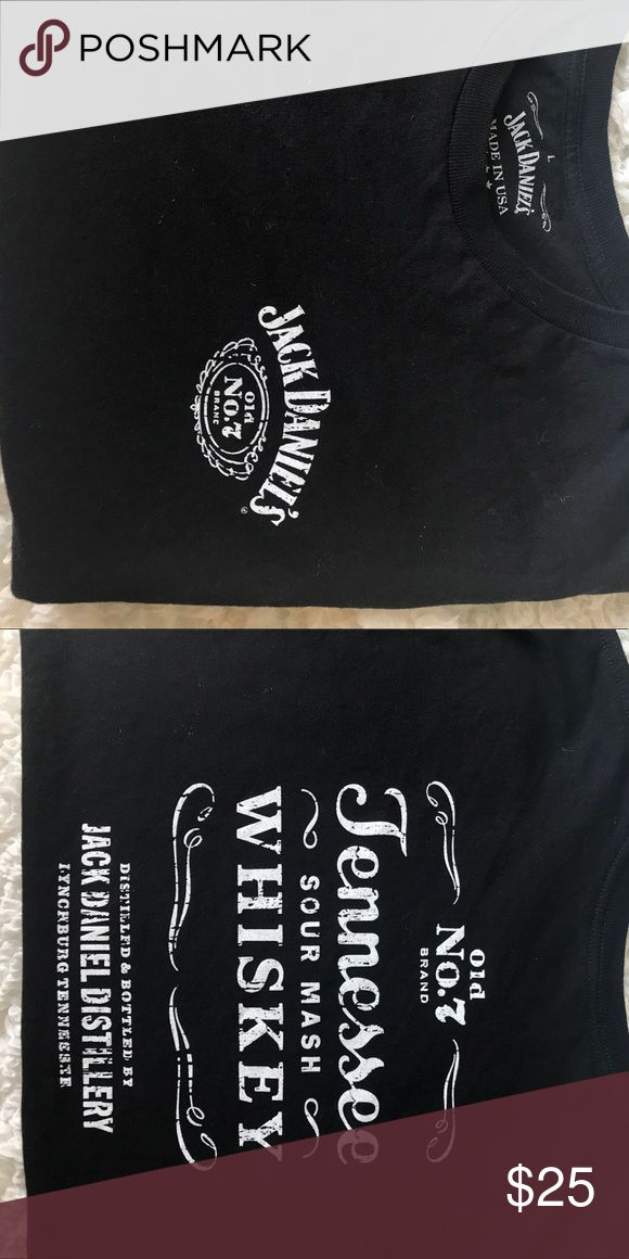 Jack Daniels Tee Shirt Men's size large from Tennessee Distillery Urban Outfitters Shirts