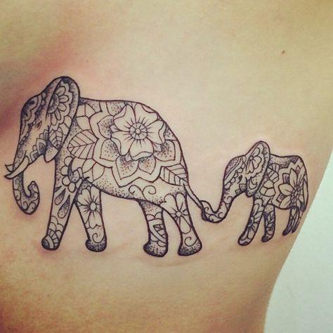 Les 25 meilleures id es de la cat gorie tatouage l phant mandala sur pinterest l phant - Signification tatouage elephant ...