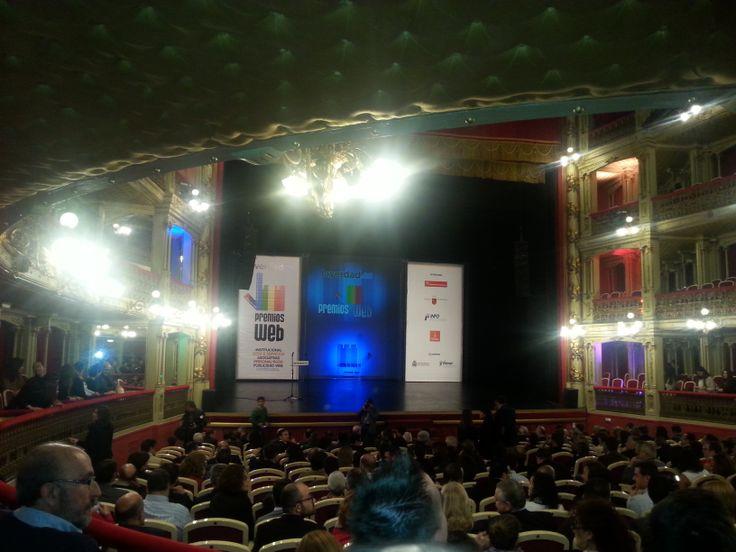 Premios Web laverdad.es 2014. Teatro Romea (Murcia)-1