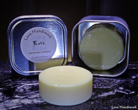 All Natural Unscented Beeswax Lotion Bar by LoveHandyWork on Etsy
