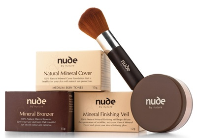 Nude By Nature.  Amazing coverage, best make up I've ever used and all natural.