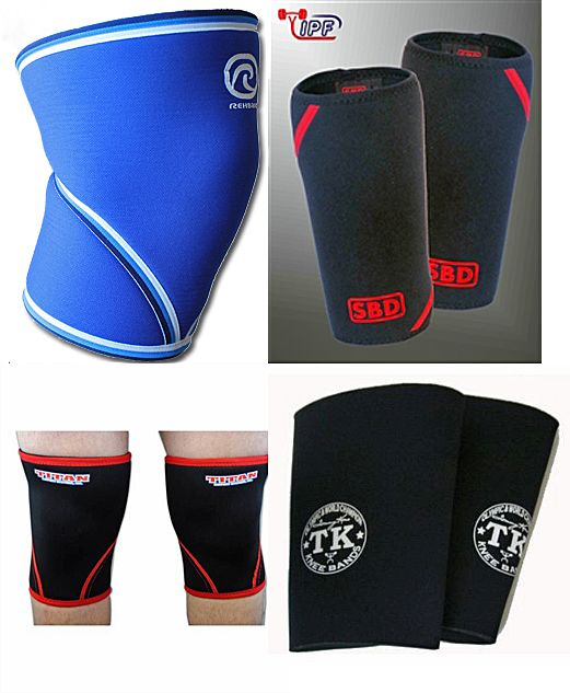 Powerlifting Gear III: Knee Sleeves. I love my SBD's