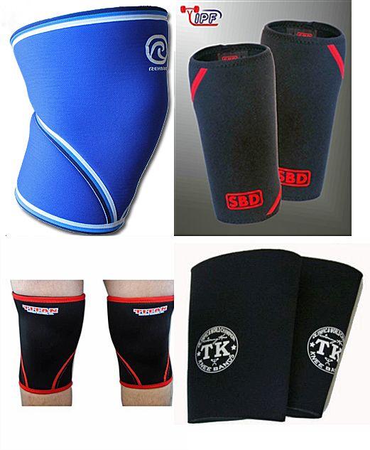 Powerlifting Gear III: Knee Sleeves. I love my SBD's