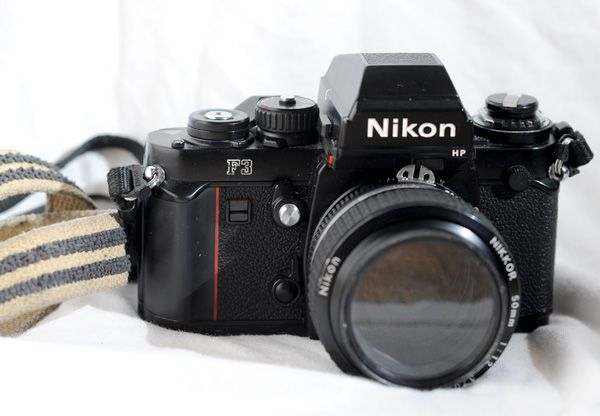 """$400 NiKON F3HP  -Tank of a camera. Mounts and meters with newer lenses """"Unless auto-focus is a necessity for you, this camera doesn't lack anything you'll want"""""""