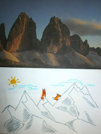 -89: Montagna - 1900 metri volpe Mountain - 1900 meters of fox #fox #volpe #montagna #mountain
