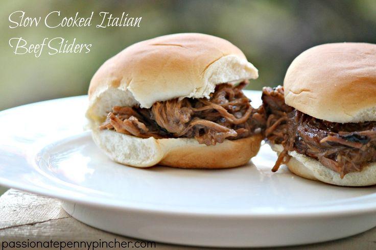 ... Italian Beef, Food, Recipes, Slowcooker, Beef Slider, Slow Cooker, Rsz