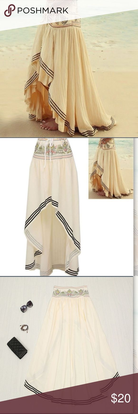 High low skirt 😘 Cute high-low skirt! Great for the beach or fun summer outfit. Smoke free home :) Skirts High Low