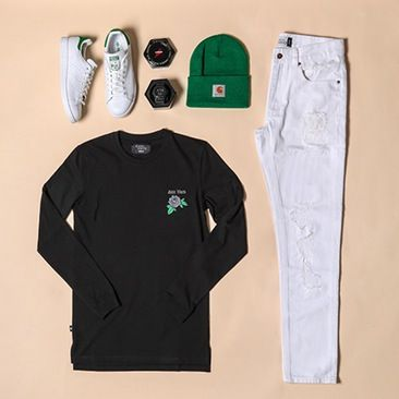 Culture Kings have solved the dilemma that is lining up a matching outfit from kicks to lid, shop one of our looks to check it out for yourself.