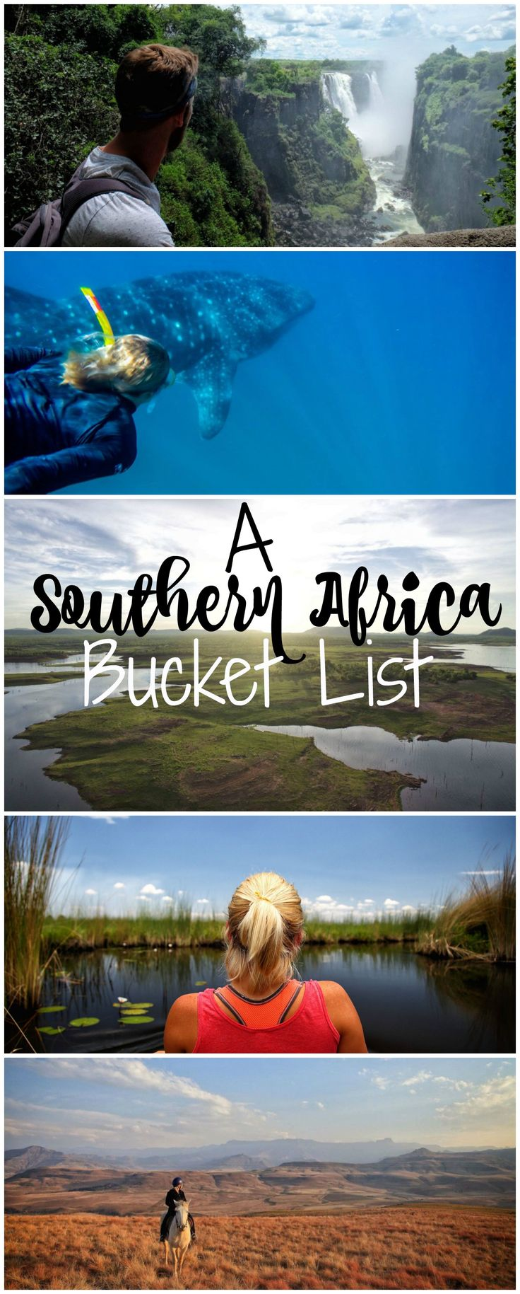 The ultimate Southern Africa bucket list to read before traveling to Africa.