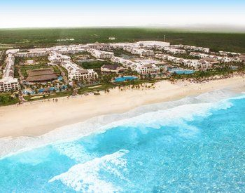 Hard Rock Hotel Punta Cana, Dominican Republic This place is so huge and the beach is totally amazing!
