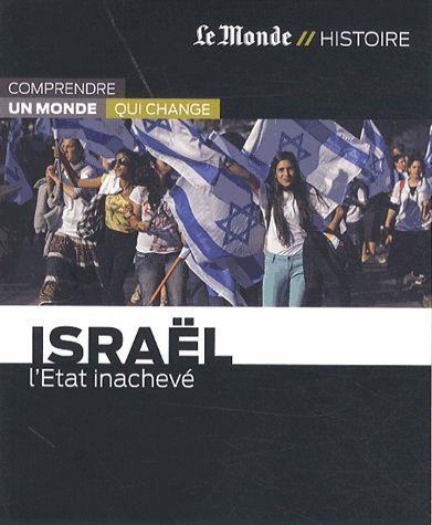 Depuis sa fondation en 1948, Israël n'a guère quitté les feux de l'actualité. Isolé dans le monde Arabe, l'Etat juif a vécu au rythme des conflits armés avec les pays voisins. Et malgré d'incontestables succès, notamment économiques, l'espoir d'un avenir pacifié reste suspendu au sort des Palestiniens. Après soixante-cinq ans d'existence, le rêve des immigrants juifs européens venus établir un foyer protecteur en Terre promise reste inachevé.  Cote: DS 118 P37 2013
