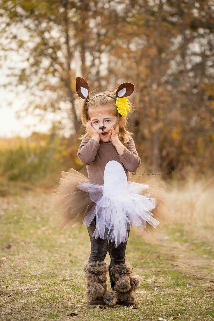 Little girls deer costume