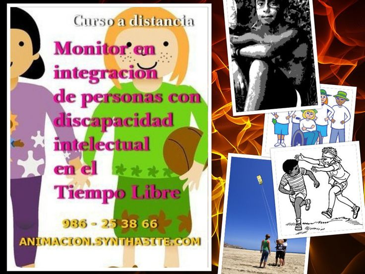 Curso #Discapacidad Intelectual. Curso a distancia toda España para monitores, animadores, integradores sociales, educadores...